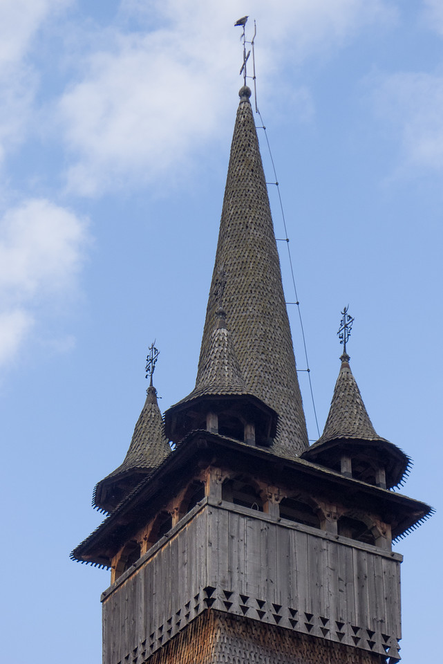 Budeşti Wooden Church, Maramures
