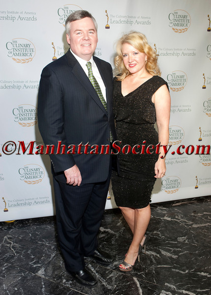 Dr. Tim Ryan, Lynne Ryan attend The Culinary Institute of America's 2012 Leadership Awards Gala on Thursday, March 29th, 2012 at the New York Marriott Marquis, 1535 Broadway (Times Square), New York, NY 10036    PHOTO CREDIT: Copyright © 2012 Manhattan Society.com by Christopher London
