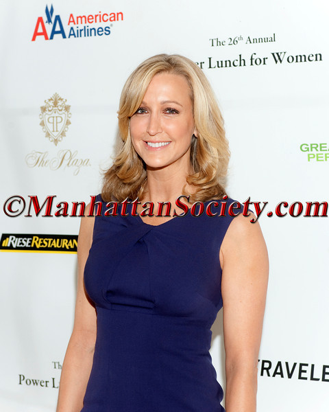 Lara Spencer attends CITYMEALS-ON-WHEELS 26TH ANNUAL POWER LUNCH FOR WOMEN  Honoring Paula Zahn and Randi & Dennis Riese on November 16, 2012 at The Plaza Hotel, Grand Ballroom, Fifth Avenue & Central Park South, New York City, NY. (Photos by Christopher London ©2012 ManhattanSociety.com)