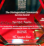 Mount Sinai School Of Medicine Center For Multicultural & Community Affairs, The Distinguished Community Service Award 2012, David C  Banks