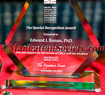 Mount Sinai School Of Medicine Center For Multicultural & Community Affairs, The Special Recognition Award 2012 Edward J. Ronan, PhD