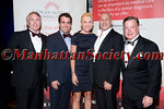 Jack Ford, Brian d'Arcy James,Laura Wheat, Honoree Carmen Marc Valvo,Doug Wheat