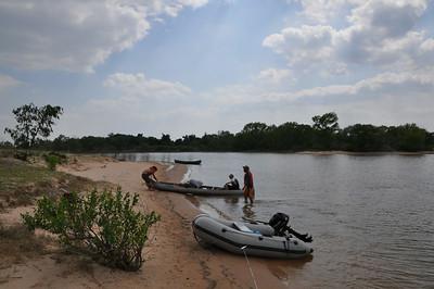 2012 Canoeing at Lake Texoma