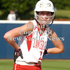 Erica Galvin/NEWS<br /> Madison Altmyer smiles after hitting a triple in the eighth inning.