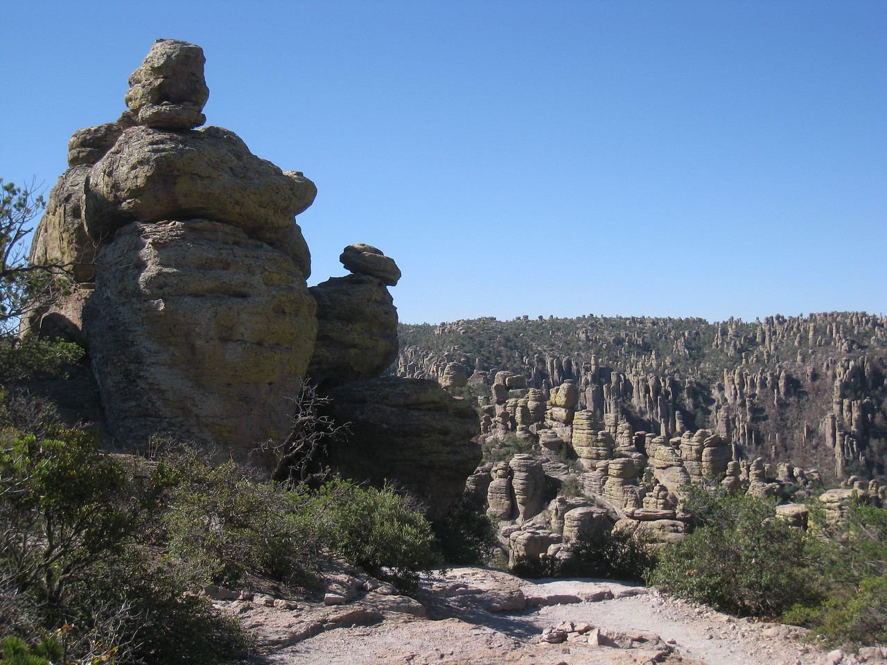 Chiricahua National Monument Echo Canyon