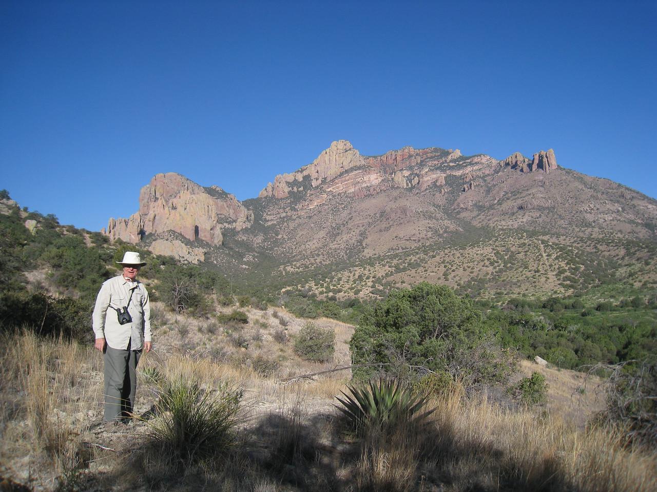 Short stroll near the ranch in Cave Creek Canyon