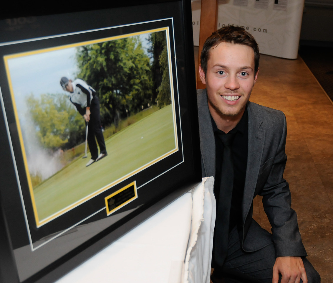 Glenboro native Josh Wytinck won the 2012 Manitoba Amateur Golfer of the Year. This past season he won the Nott Autocorp Men's Amateur Championship in a four person playoff. He made the cut in the Canadian Tour Players Cup finishing tied for 62nd, lost in the round of 16's at the provincial Match Play Championship, was tied for 7th at the Saskatchewan Amateur and finished tied for 32nd at the Canadian University Championship. As Captain of the University of Manitoba Bison Golf Team, Wytinck had five top five finishes and assisted the Team with their five victories this fall. He is currently ranked 13th on the National Order of Merit. Congratulations from the directors and staff from Golf Manitoba.