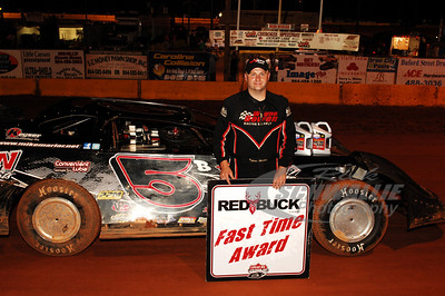 Mike Marlar won the Red Buck Fast Time Award