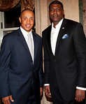 John Starks, Larry Johnson