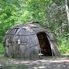 Wigwam @ Chippewa Nature Center.