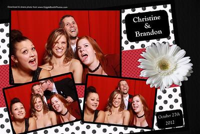 Christine & Brandon Wedding
