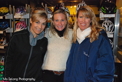 Dorette Franks, Lori Capshaw and Kathy Winkler