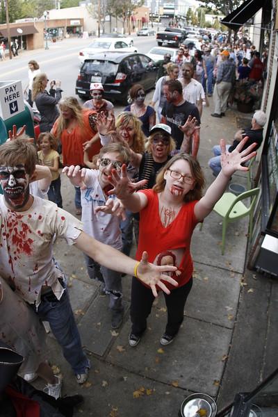 Zombie Walk | Frazier Ave | 102012