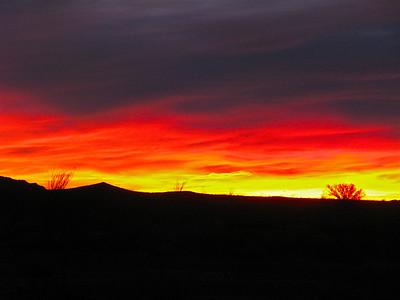 Sunrise at Turtle Mountain Campsite
