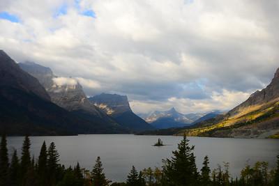 Saint Mary Lake and Wild Goose Island