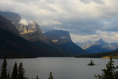 Saint Mary Lake and Wild Goose Island
