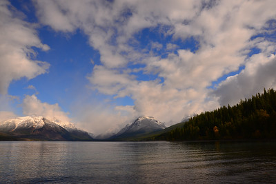 1st Snows over Lake McDonald
