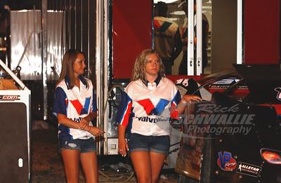 Amanda Francis (left)