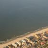 Beach, from the air