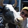 Adam & the cow