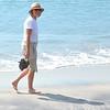 Coronado - Anne walking along the beach