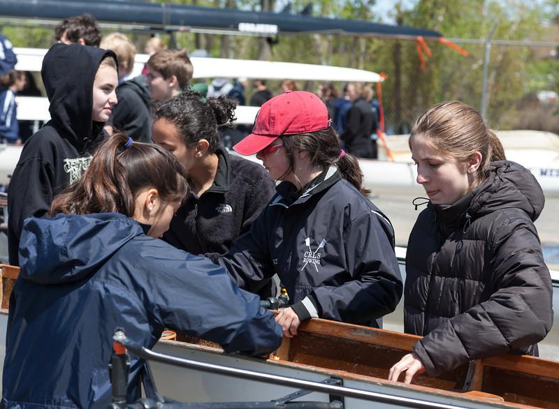 Grils rigging boat