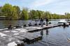 Girls Varsiy 8: at the dock