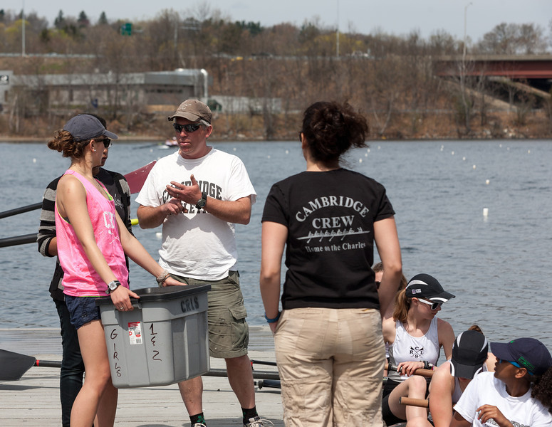Coach Dale on the dock