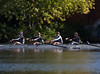 Varsity boat racing: Andre, Liam, Evan, Jonah, and Benjamin (cox)