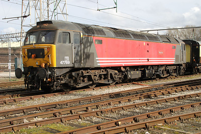 47769 in Crewe Holding Sidings 17/03/12