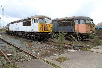 56065_56077 at Crewe Diesel 17/03/12