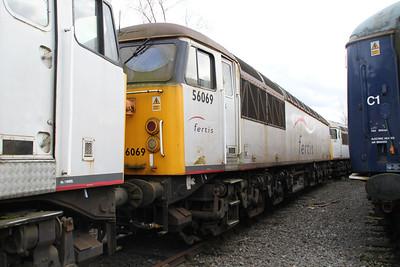 56069 at Crewe Diesel 17/03/12