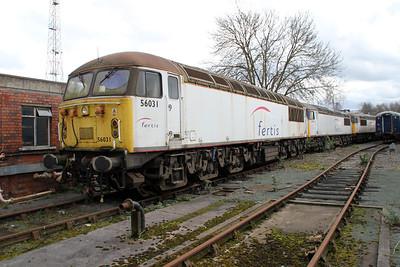 56031_56106_56069 at Crewe Diesel 17/03/12