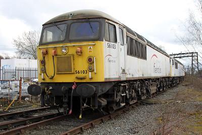 56103 at Crewe Diesel 17/03/12