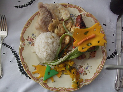 Lunch in Trinidad - Sandy Kirkpatrick