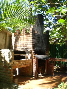 oven at Hostal Dona Carmela, March 18 - Elizabeth Yerkes