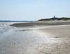 Side beach, lighthouse