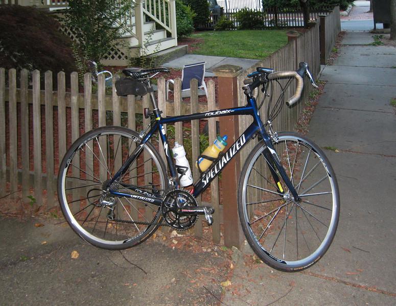 Bike at home, 6am