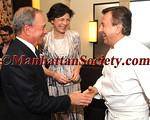"Mayor Mike Bloomberg, Diana Taylor greet Daniel Boulud at CHEF DANIEL BOULUD's 57th Birthday Celebration - A TASTE OF TAILLEVENT, PARIS - At 13th Annual ""SUNDAY SUPPER"" Benefitting CITYMEALS-ON-WHEELS on Sunday, March 25, 2012 at DANIEL 60 East 65 Street, New York City, NY PHOTO CREDIT: Copyright © 2012 Manhattan Society.com by Christopher London"