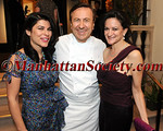 "Nilou Motamed, Daniel Boulud, Georgette Farkas attend CHEF DANIEL BOULUD's 57th Birthday Celebration - A TASTE OF TAILLEVENT, PARIS - At 13th Annual ""SUNDAY SUPPER"" Benefitting CITYMEALS-ON-WHEELS on Sunday, March 25, 2012 at DANIEL 60 East 65 Street, New York City, NY PHOTO CREDIT: Copyright © 2012 Manhattan Society.com by Christopher London"