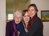 Dorothy, Isabel, and Chantal, 3 generations