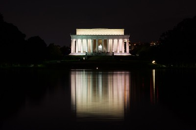 Lincoln Memorial from east side of reflecting pool