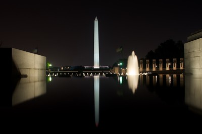 Washington Monument from World War II Memorial