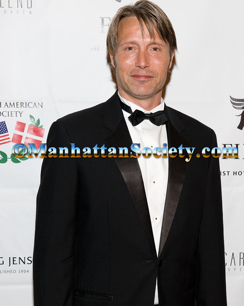 Danish American Society Person of The Year 2012, Mads Mikkelsen