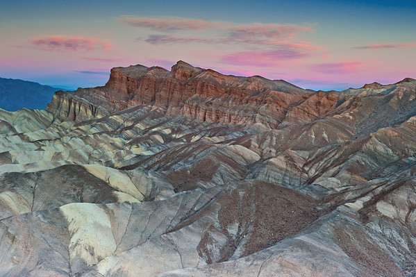 Zabriski Point sunrise, with a touch of color!