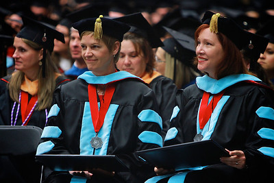 Fall Commencement Ceremony in the Lutz-Yelton Convocation Center; December 17, 2012.
