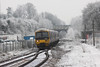 13 December 2012 :: 166212 arriving at a frosty Basingstoke with 0939 from Reading