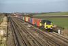 15 December 2012 :: 70007 at Cholsey working 4O29, Crewe to Southampton