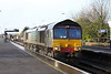17 December 2012 :: 66415 at Basingstole working 6Y41, Eastleigh to Hoo Junction engineers train which today was running late after being routed via Salisbury