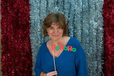 Allen took this photo of me at the christmas party. I really liked how the props worked out.